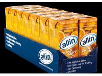 allin® Orange-Apfel-Pfirsich