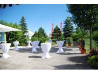 große Terrasse - Hotel Paradies
