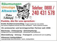 Räumungs- und Übersiedlungsdienst für Wien und NÖ