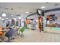 Rezeptions und Barbereich Fitnesscenter California Linz