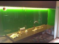 Küche Rückwand aus Glas
