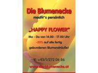 Happy Flower in der Blumencke amSchlingermarkt