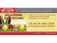 Ausstellung XXL-Ostereier im Einkaufszentrum der Galleria!