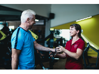 Trainingsbetreuung vor Ort sowie Personal Training