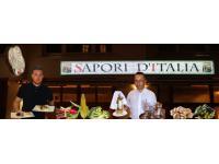 """Sapori d´Italia"" bedeutet: der Geschmack Italiens,"