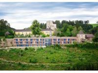 Luftansicht Burg Kreuzen