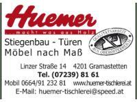 Huemer Manfred - Stiegen- u Treppenbau