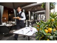 Kulinarischer Genuß auf der neugestalteten Terrasse