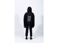 "hoodie ""gluttony"" – black"