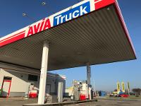 LKW-Tankstelle