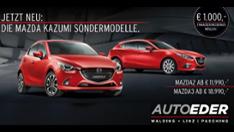 Mazda3 & Mazda2 KAZUMI
