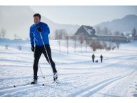 Kostenloser Langlaufski- und Schneeschuh-Verleih