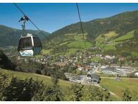 Ort Bad Kleinkirchheim im Sommer