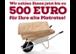 500 Euro für Ihre alte Matratze