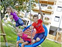 Kinderspielplatz am Hotel Rupertus in Leogang