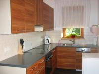 Die Küche im Apartment