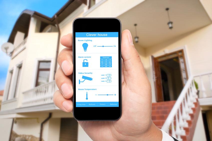 Smarthome, Haustechnikanlage, Einbruch, Schutz, Smart Home, Smartphone Steuerung,