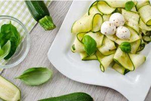 Gemüsenudeln, vegan, Rezepte, Zucchininudeln