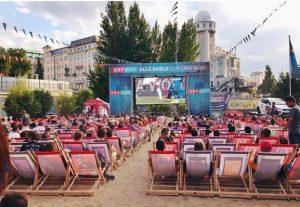 Public Viewing EM 2016 Wien