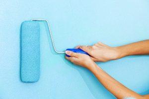 Bunte Wandfarbe, Wandfarben Ideen, Wandfarben Trends, Wände streichen