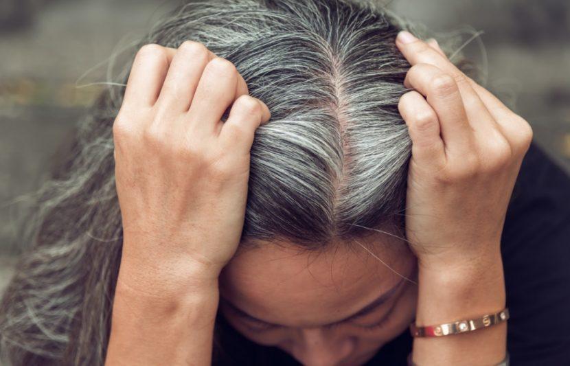 Zwiebelsaft gegen graue haare