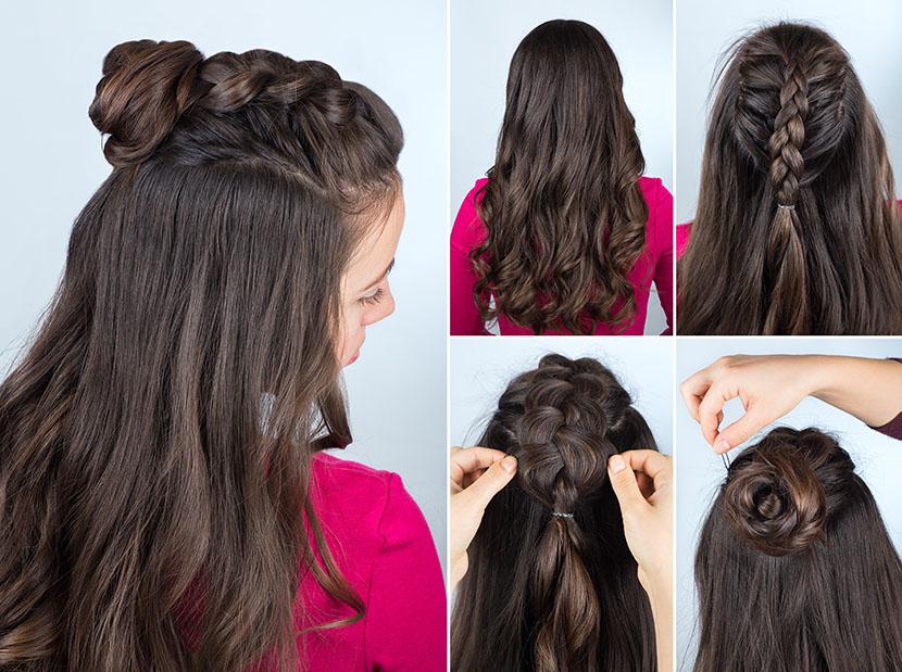 Haare zu lang zum stylen