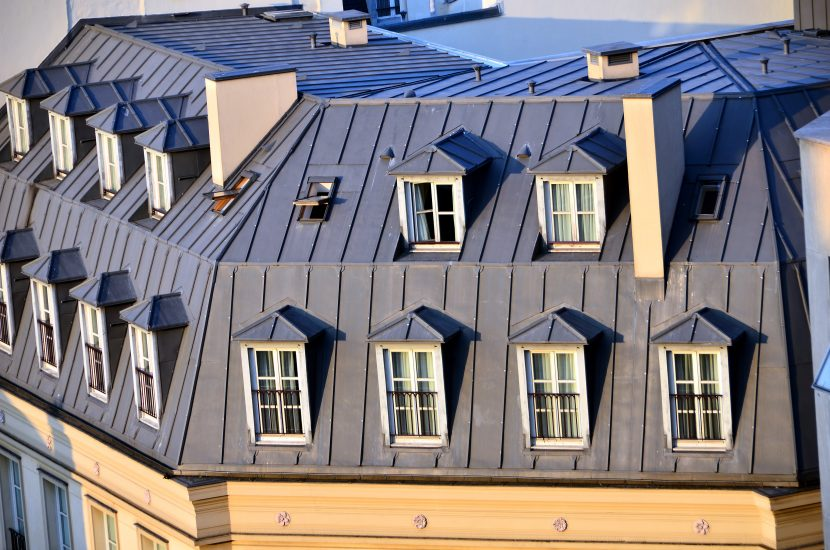 Dachformen: Hier ein Mansardendach