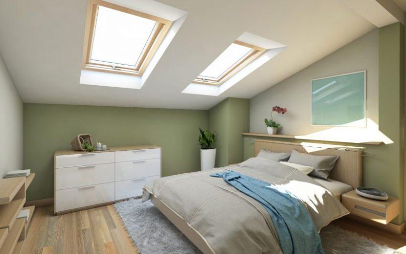 Ein Kühler Grünton Im Schlafzimmer Hilft Dabei, Das Gedankenkarussel Zu  Beruhigen. Foto: Adobe Stock: (c) Krooogle