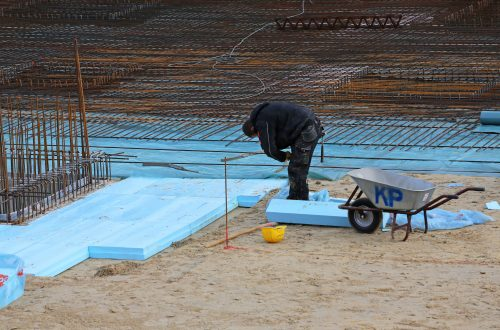 Bodenplatte isolieren