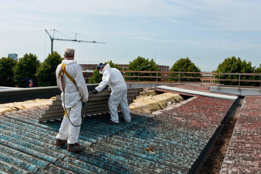 Dachplatten aus Asbest