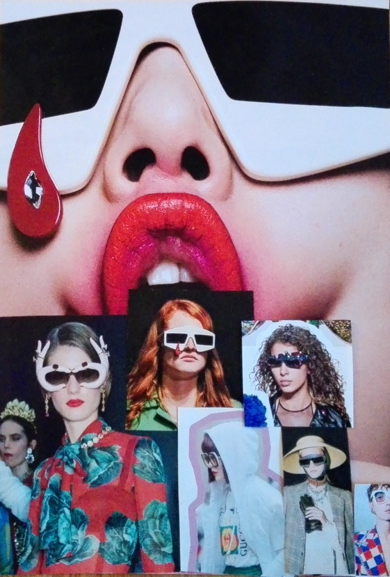 Immer wieder Statement Shades, Sonnenbrillen Trend 2018, Collage (c) Claudia Busser - HEROLD.at