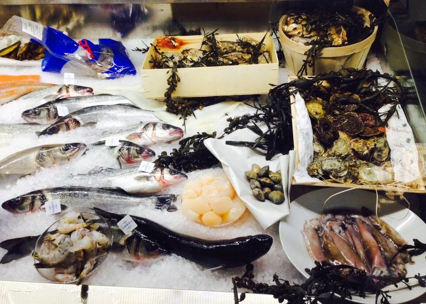 Fischtheke im Goldfisch, Foto (c) Andrea Pickl - HEROLD.at