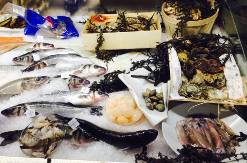 Fisch kaufen Wien, Vitrine im Goldfisch, Foto (c) Andrea Pickl - HEROLD.at