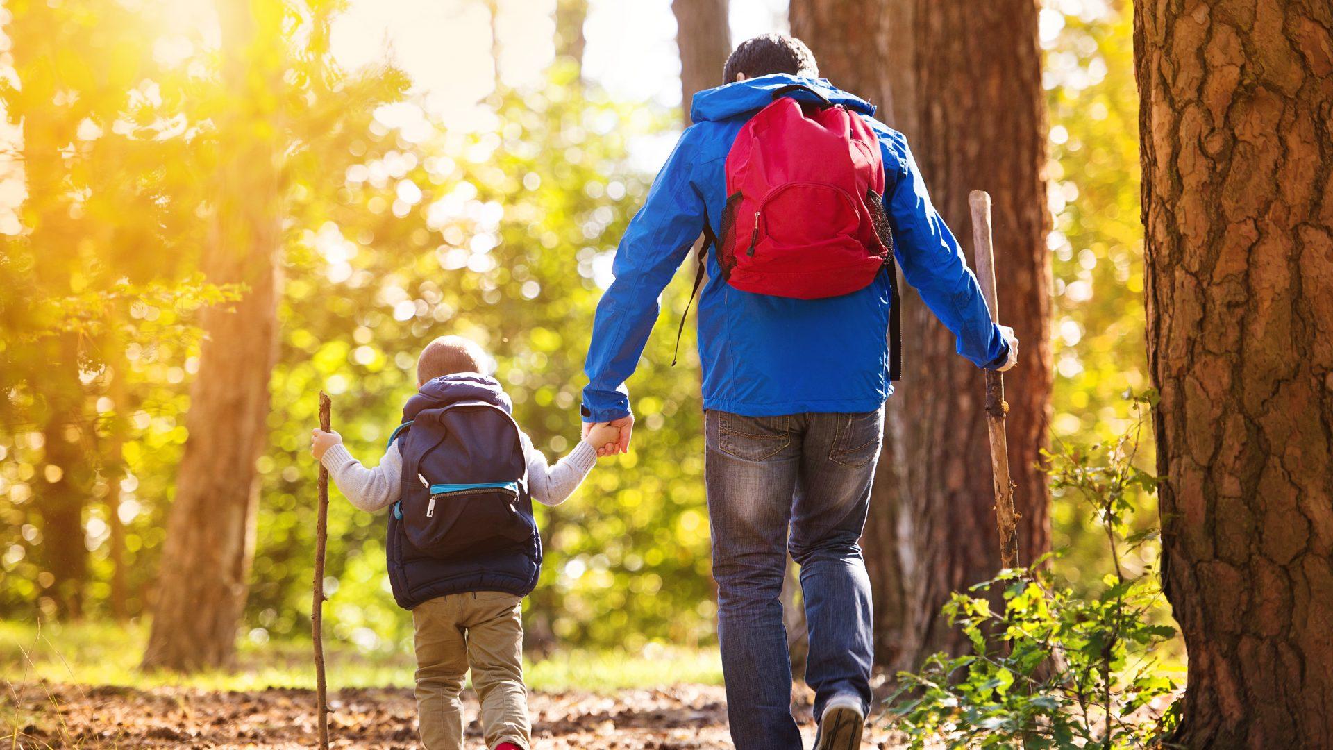 Wandern mit Kindern.