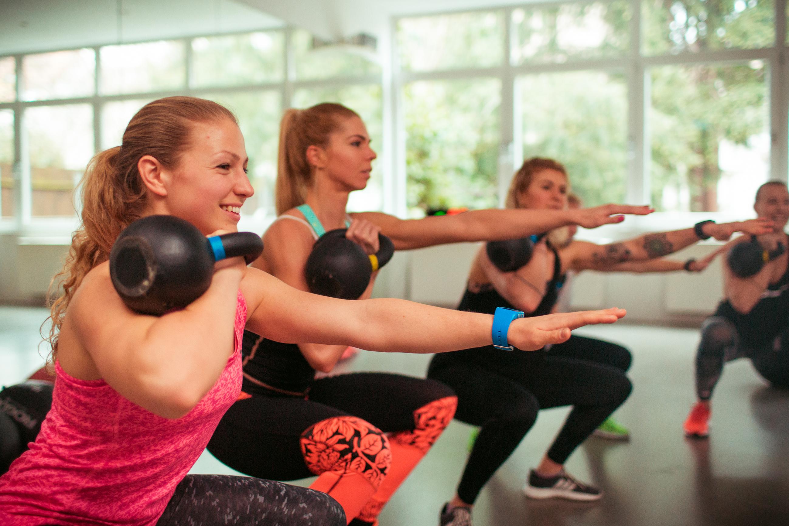 Fitnessstudio für frauen