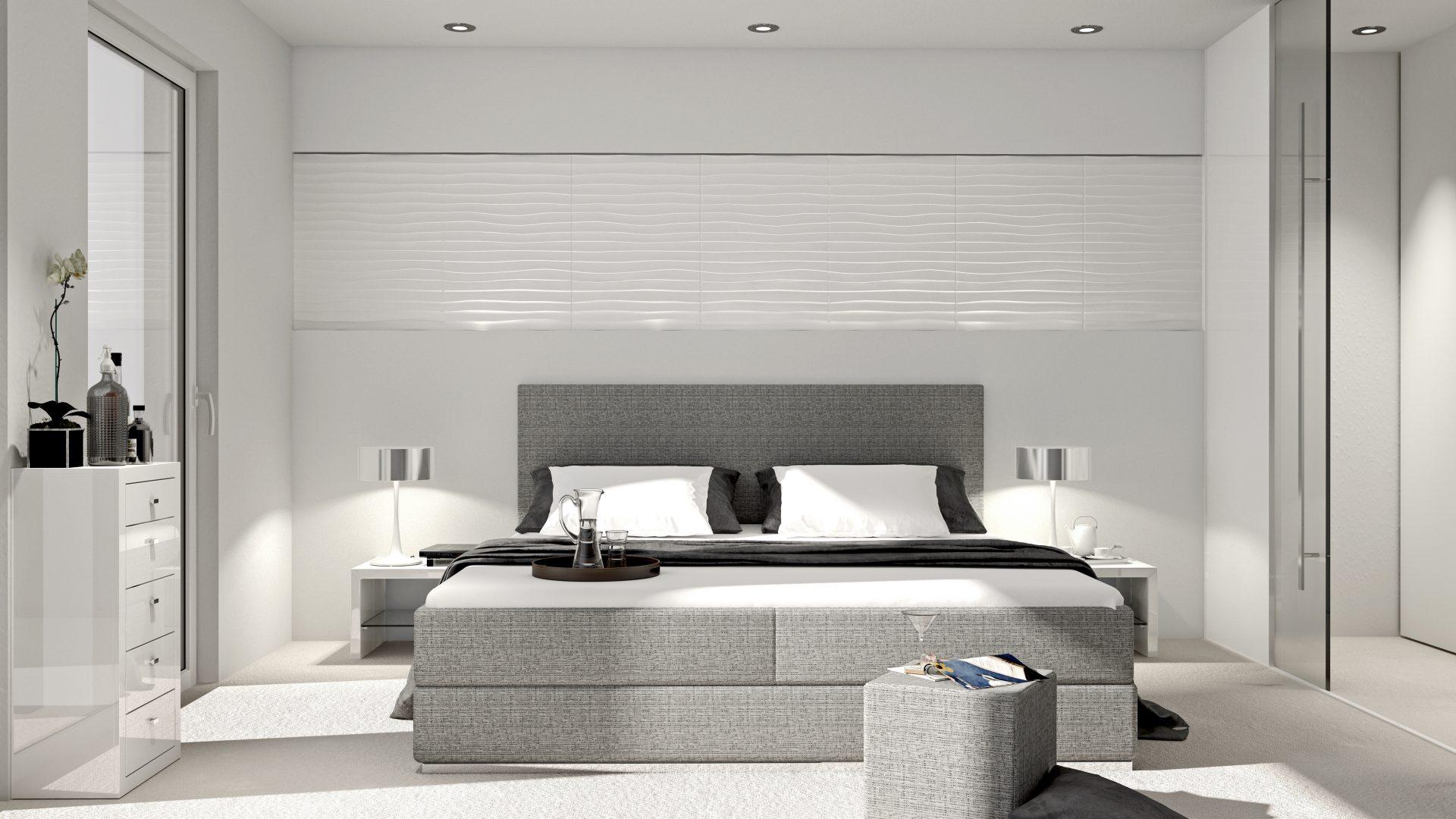 wandfarbe kabinett: so verwandelst du dein schlafzimmer in eine, Schlafzimmer entwurf
