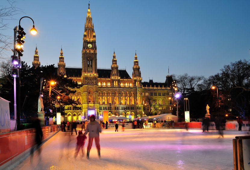 Eislaufen Wiener Eistraum