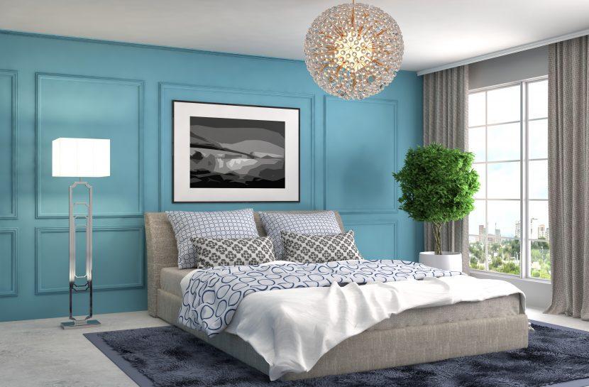 Schlafzimmer Farben, Farbe, Wohnen, Raum, Einrichten