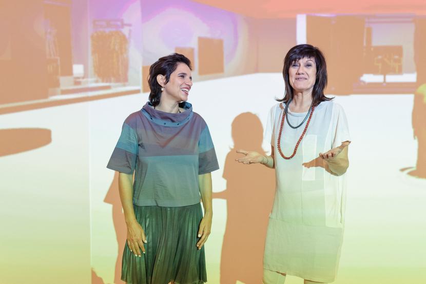 E.R.O.S. & du, Beatrix Roidinger (links) und Barbara Zuschnig, Interview über Sexualberatung und Sexualtherapie, Foto (c) David Payr