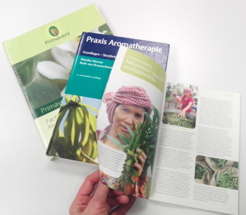 Aromatherapie Wirkung, Fachbücher Beispiele