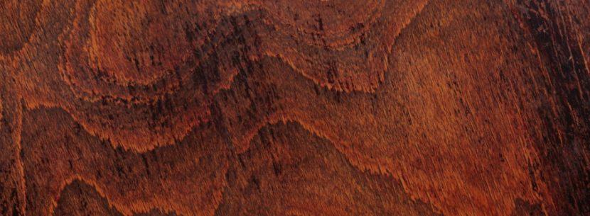 Die Charakteristische Rotbräunliche Farbe Macht Padouk Zu Einem Begehrten  Und Teuren Holz. Foto: Adobe Stock; (c) Shyshka