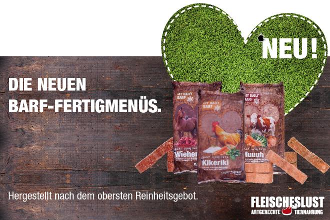 Hundernährung mit Barfen: Futter für Hunde wird mittlerweile auch in Form von rohem Fleisch angeboten