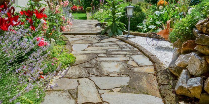 Gartenweg anlegen, Garten Weg bauen