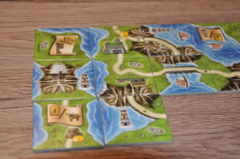Isle of Skye Plättchenlegespiel