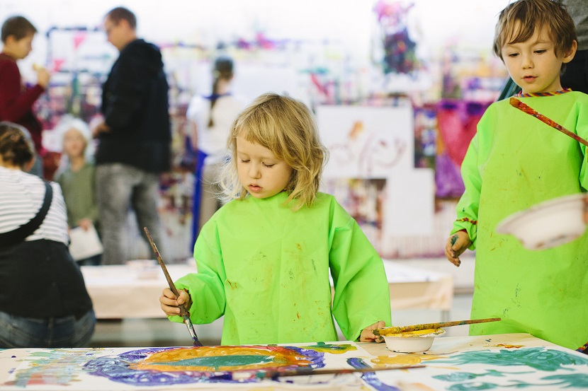 Kinder Kunst Workshops