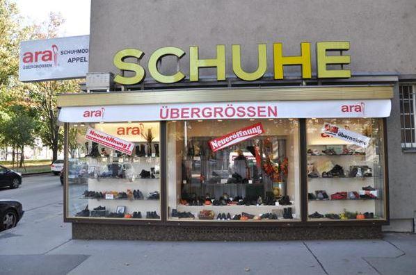 Appel Schuhe ist ein Fachgeschäft für Schuhe Übergrößen mit kompetenter und freundlicher Beratung