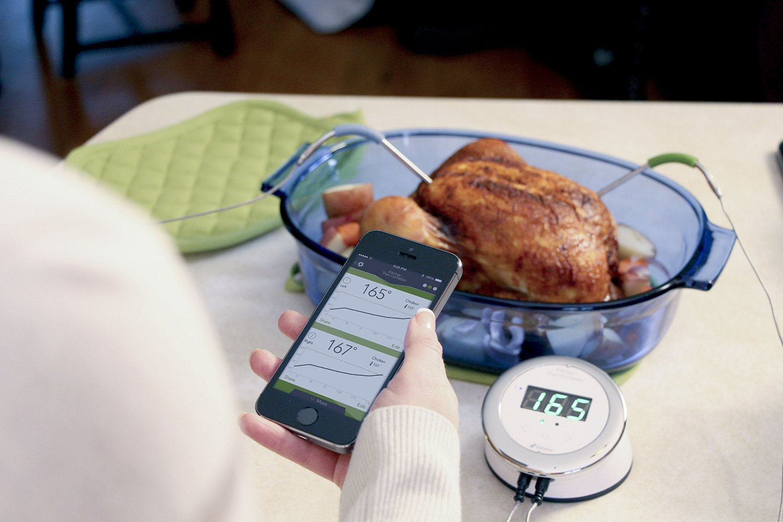 dampfgarer, küchenwaage & co. in der zukunft - küche 2.0 - Thermometer Küche