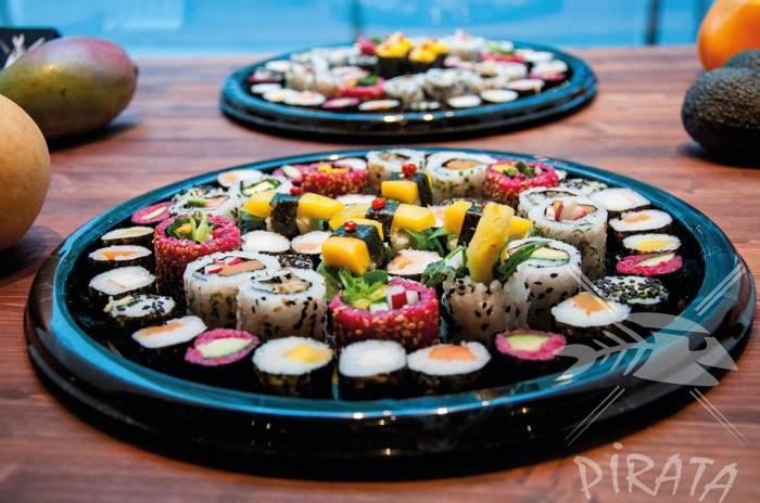 ganz und gar vegan: Pirata Sushi, Foto (c) Pirata auf fb