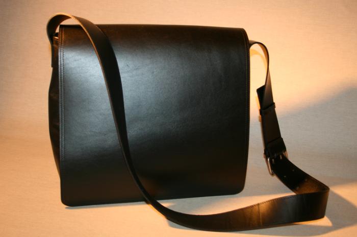 Messenger Bag - Foto © Ledermanufaktur Wallmann
