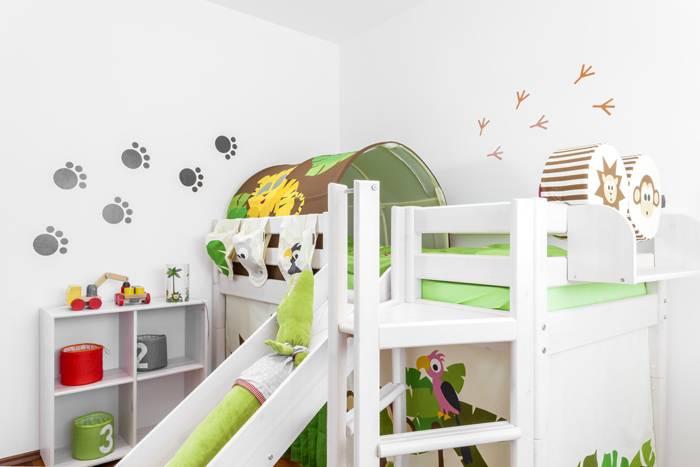 kinderzimmer romantisch einrichten verschiedene ideen f r die raumgestaltung. Black Bedroom Furniture Sets. Home Design Ideas